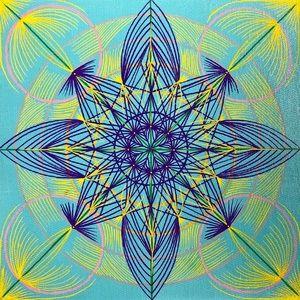 Handmade Mandala Original Painting